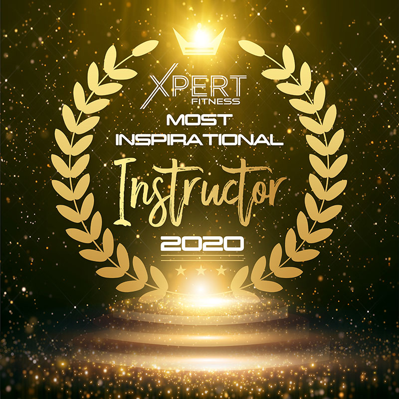 XPERT Industry Most Inspirational Instructor